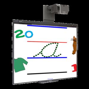 SMART Board® série 400 (Tableau blanc + Vidéoprojecteur)